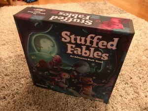 Stuffed Fables adventure book game - Plaid Hat Games
