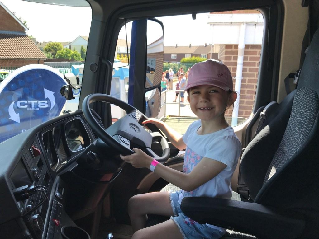 School summer fete Kara trucker