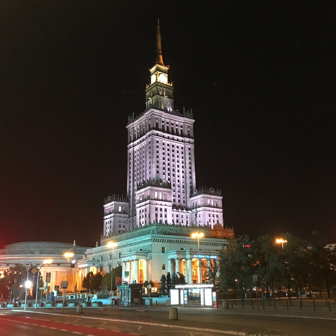 A look at Warsaw's Palace of Culture and Science