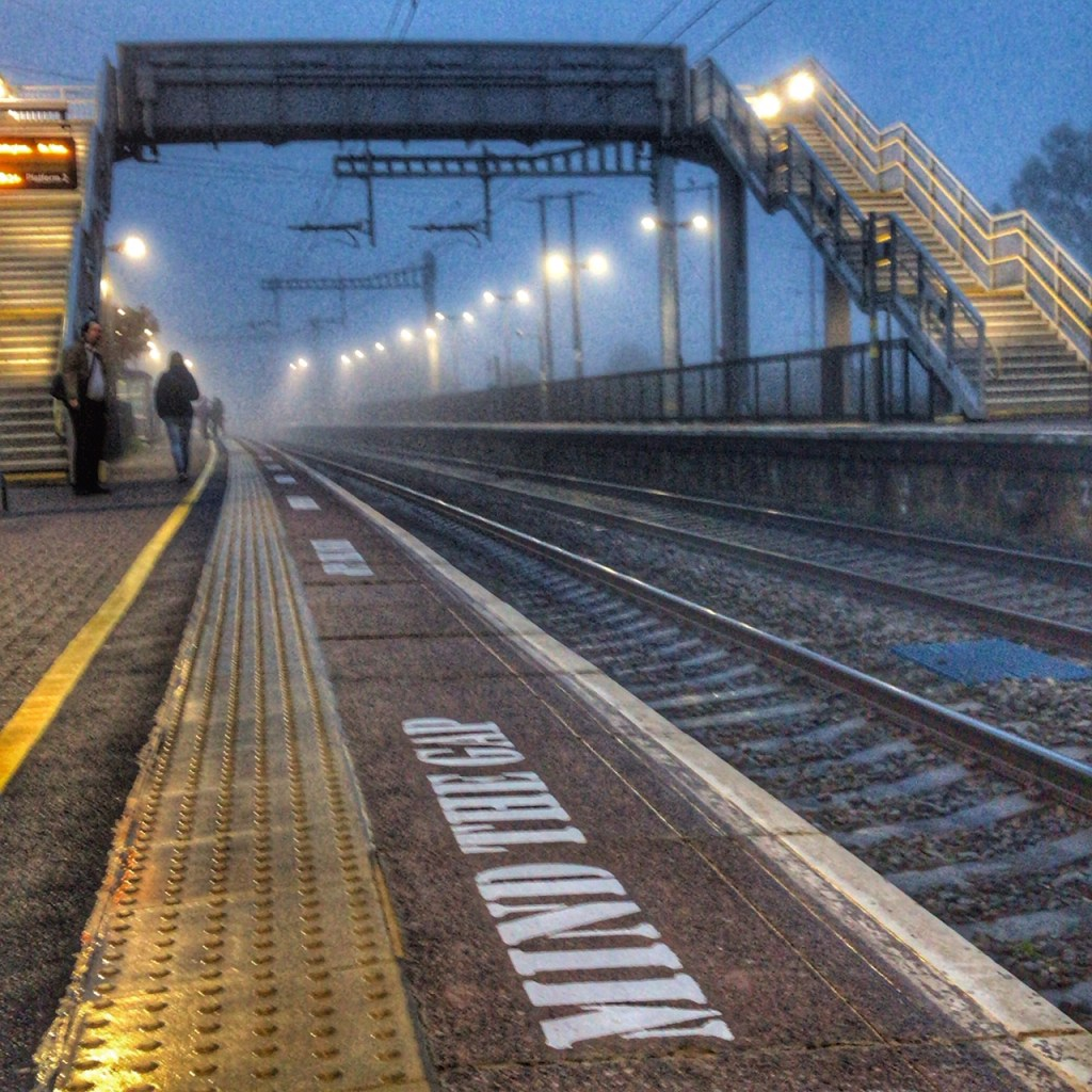 Thatcham Railway Station reluctant commuter