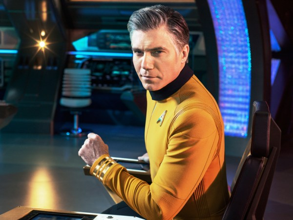 Star Trek: Discovery Captain Christopher Pike (Anson Mount)