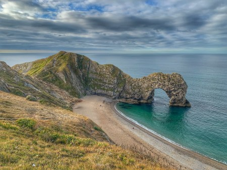 A view of Durdle Door