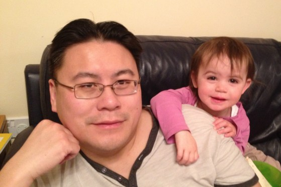 Kara with Daddy