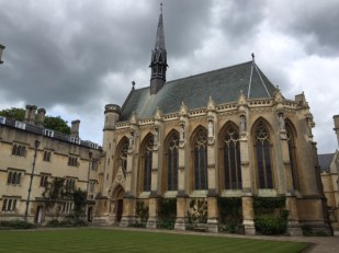 Exeter College chapel Oxford