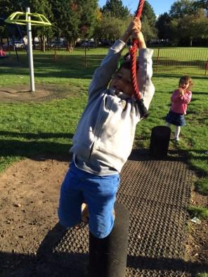 Toby rope swing