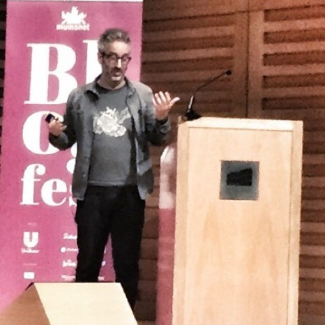 ... While David Baddiel had the entire room in stitches