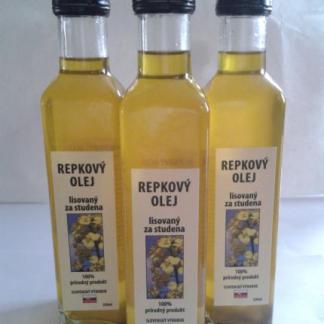 SLNEČNICOVÝ za studena lisovaný olej 250 ml