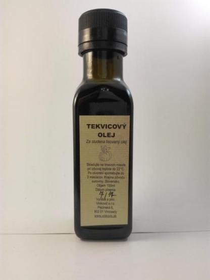 TEKVICOVÝ za studena lisovaný olej 100 ml