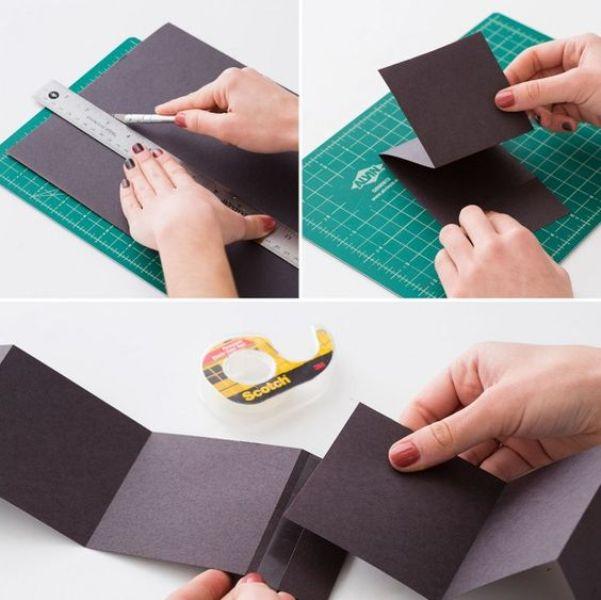 إعداد الورق المقوى
