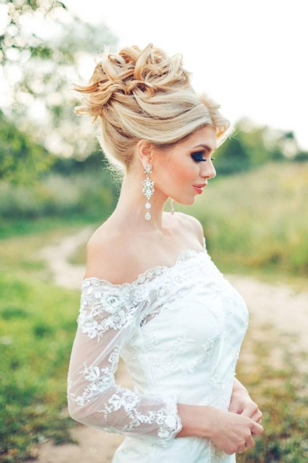 Свадебные Прически: Длинные, Средние Волосы + 100 ФОТО