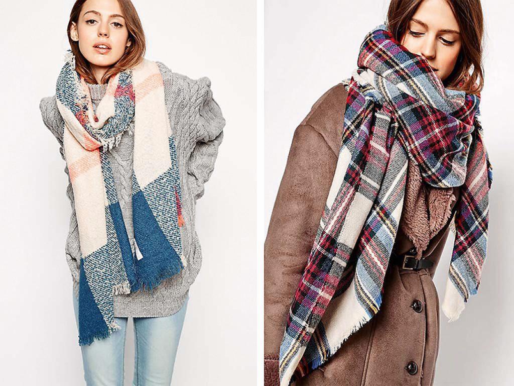как модно завязать шарф фото обработайте фото, пожалуйста