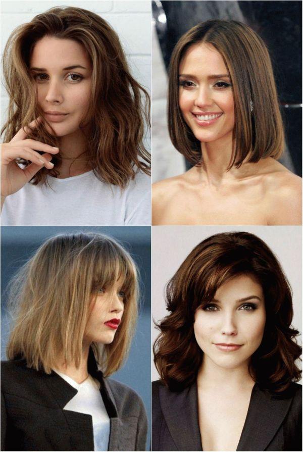 Стрижки на Средние Волосы в 2018: Каре, Боб, Каскад + 120 ФОТО