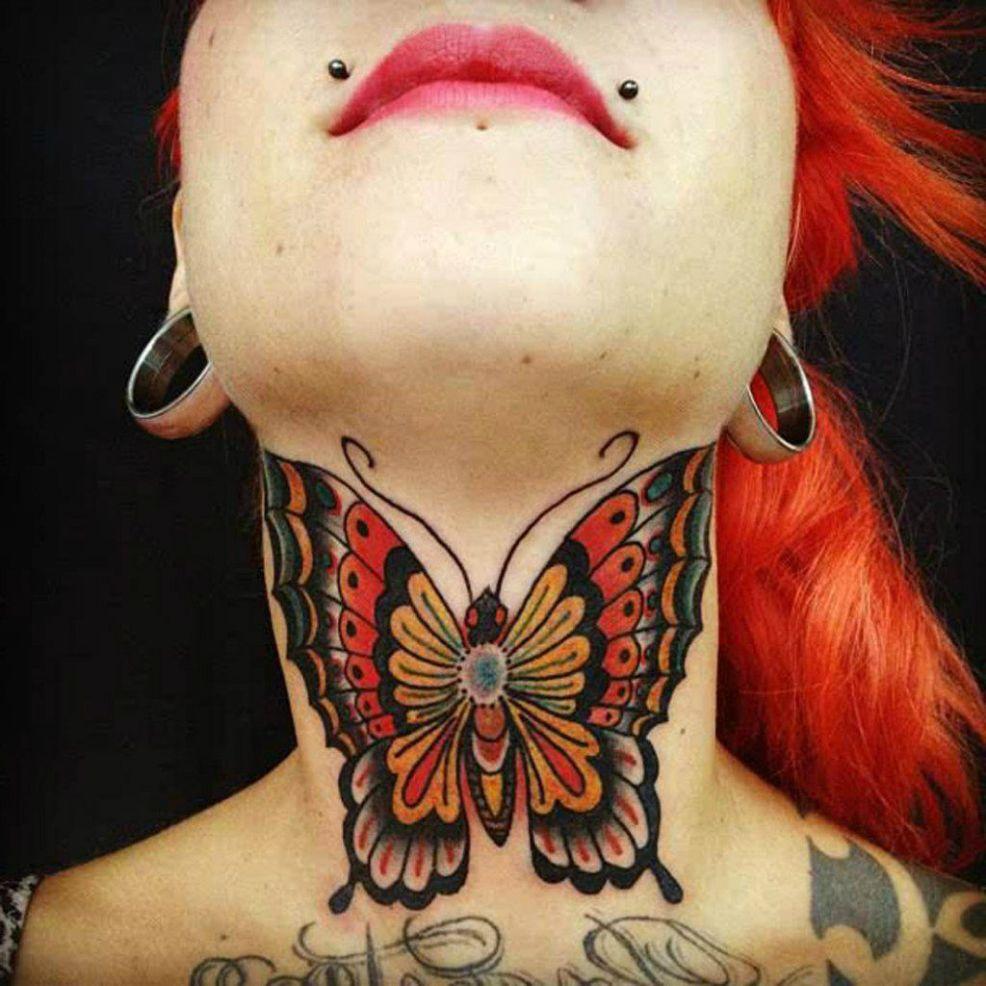 красивые тату на шее топ 7 лучших татуировок 115 фото
