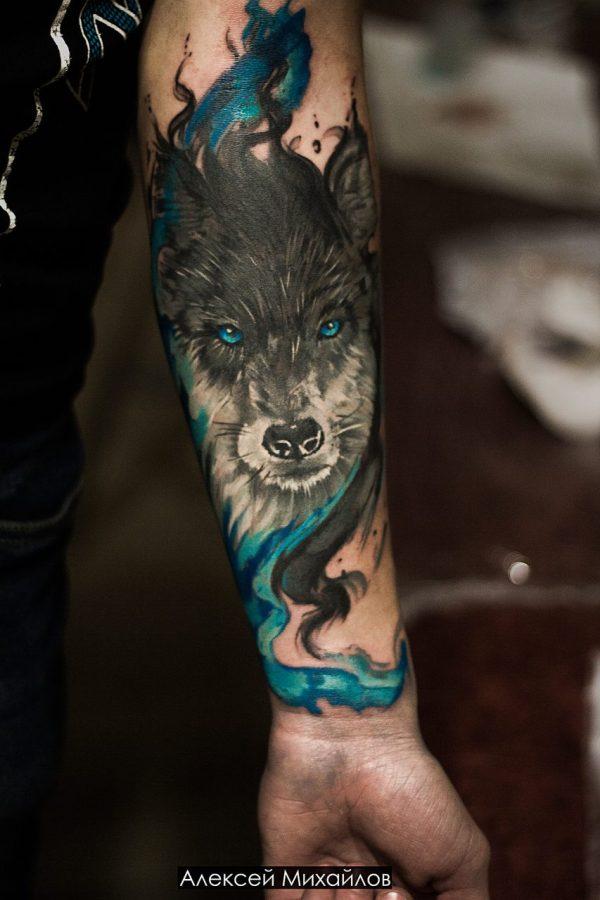 Тату с Волками. Что Означает Тату Волка с Оскалом + 155 ФОТО