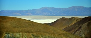 First glimpse of the argentinian salt flats