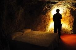 Underground bedroom