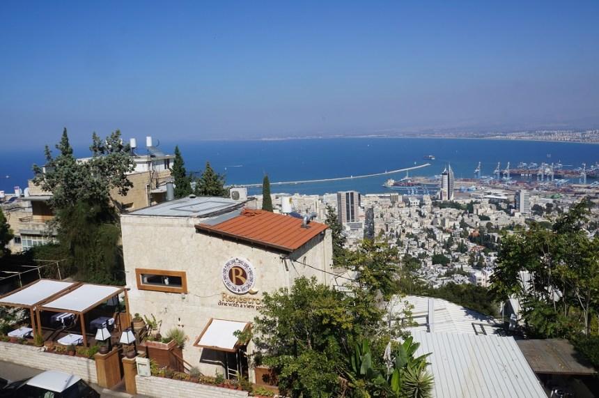 Хайфа. Вид на Средиземное море.