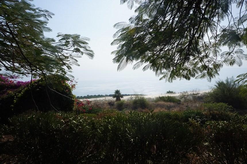 Гора Блаженств. Вид на Генисаретское озеро