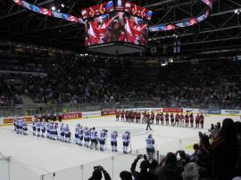 Hockey game in Slovakia (photo by: T. Malnar)