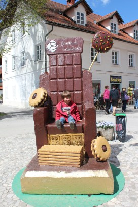 Chocolate festival, Radovljica photo by: M. Hermanova