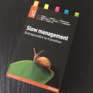 Livre Book Slow Management