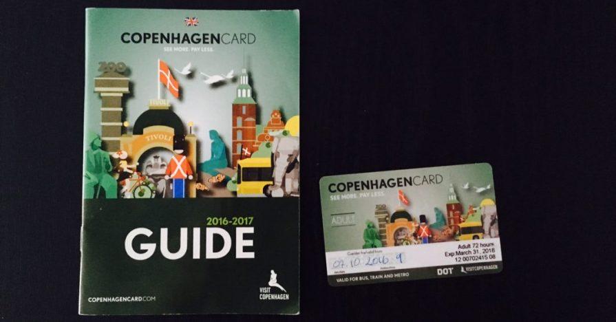 Copenhagen Card Carte Copenhague