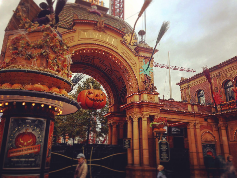 Jardin de Tivoli Tivoli Garden Halloween