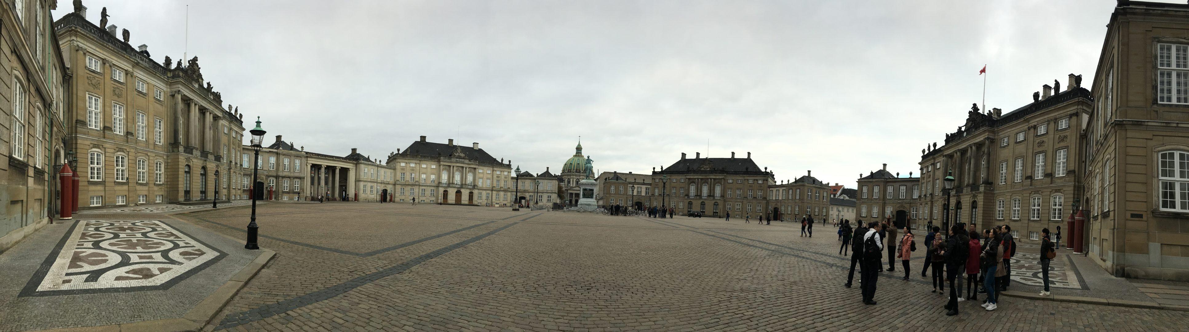 Amalienborg Copenhague Copenhagen