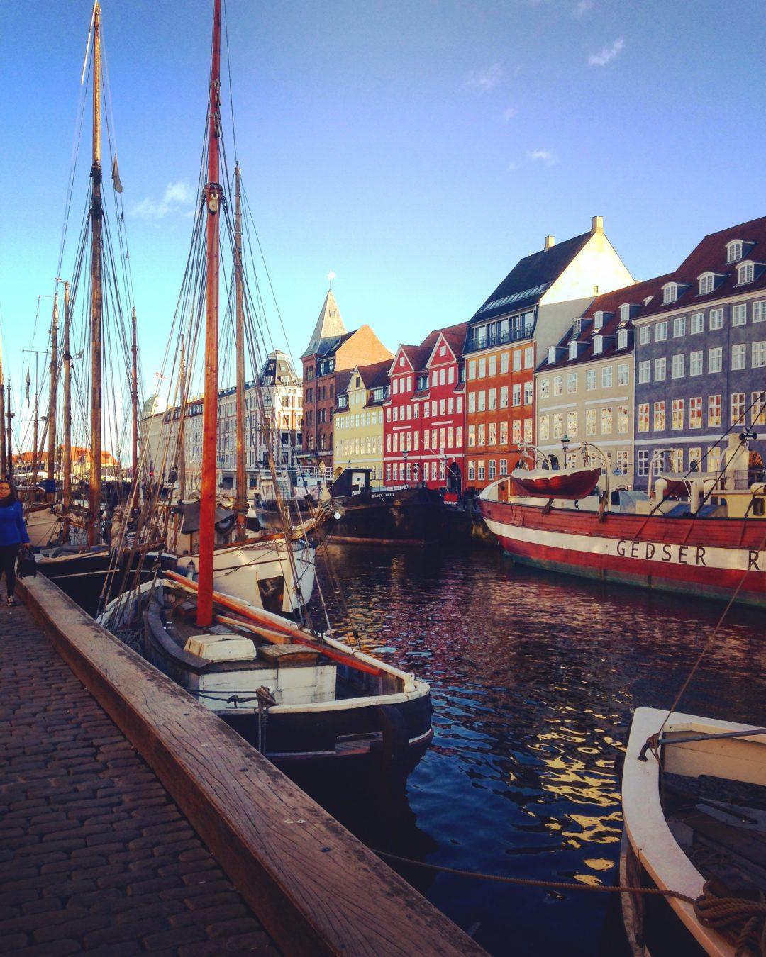Nyhavn Port Copenhague Copenhagen Harbor