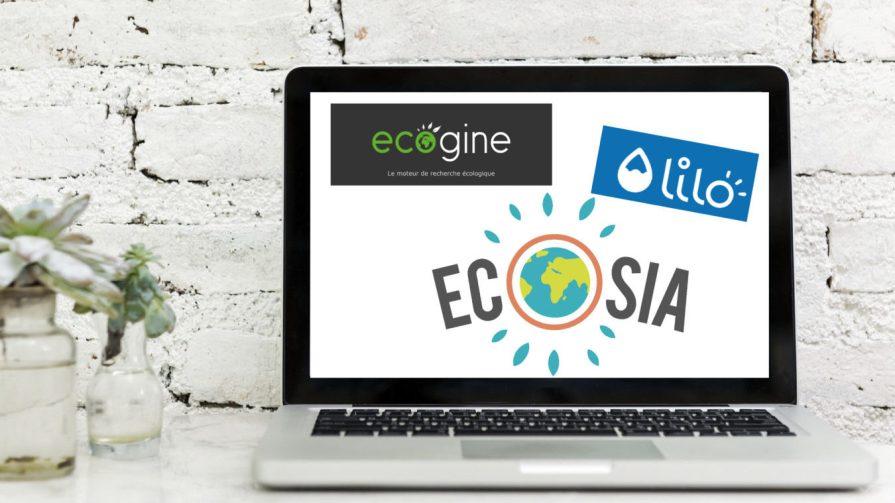 Computeur Moteurs Recherche Ecosia Lilo Ecogine