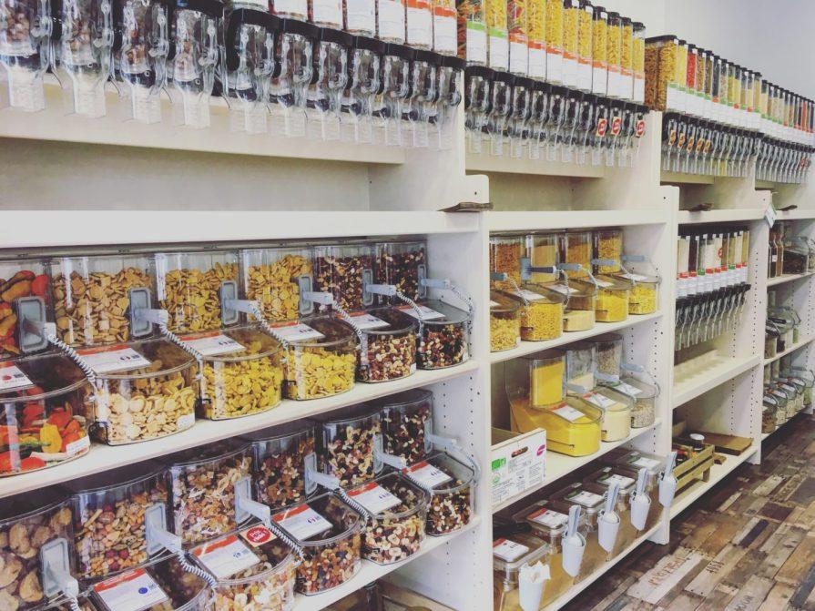 céréales rayon vrac bulk groceries