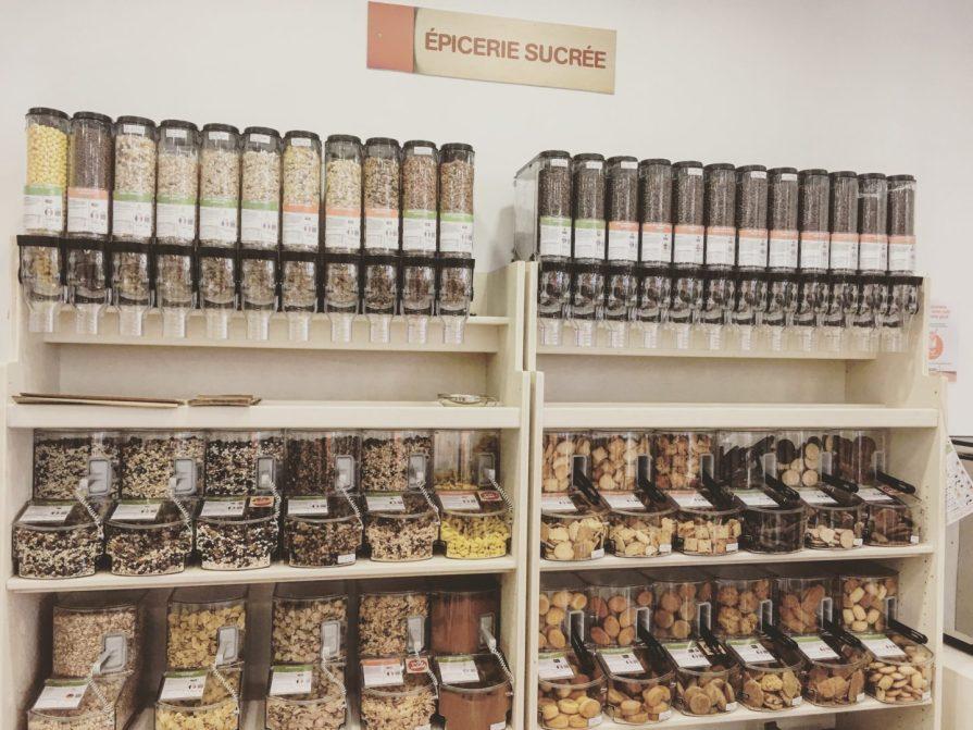 rayon vrac bulk groceries épicerie