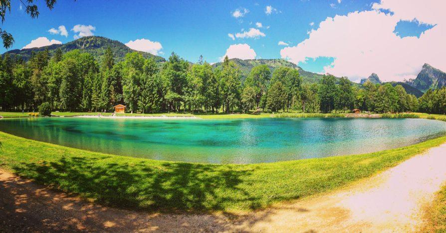 Lake Morillon Bleu Blue Lac