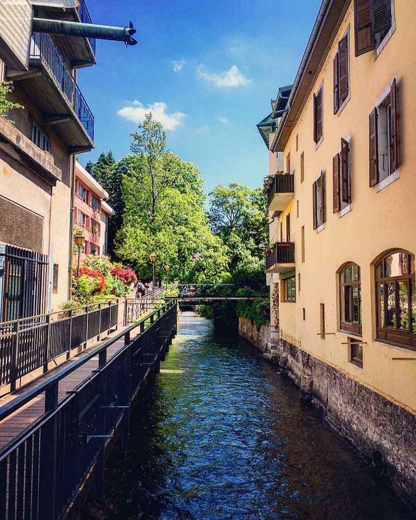 Annecy Canals Canaux
