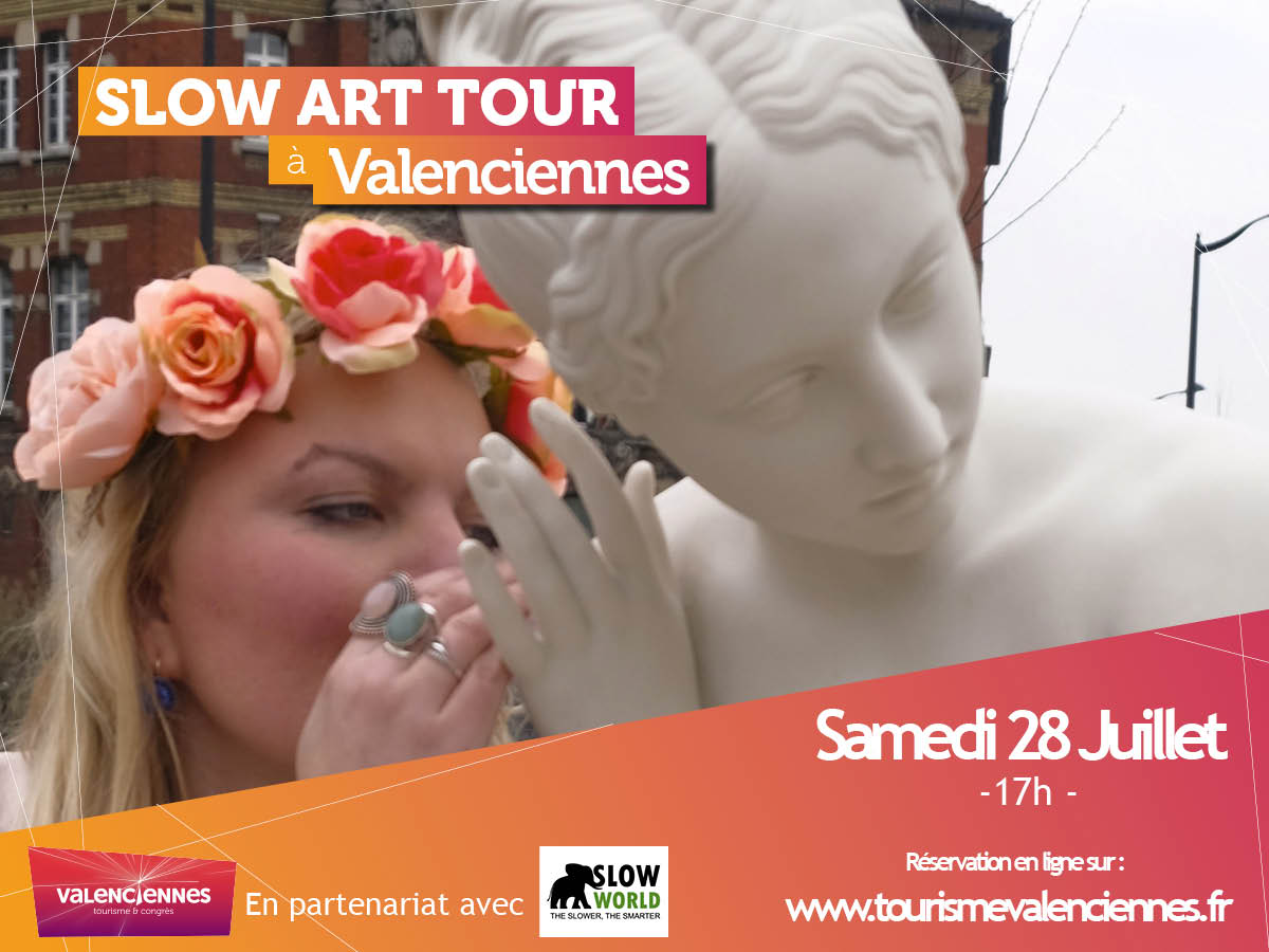 Flyer SLOW WORLD SLOW ART TOUR Valenciennes Tourisme et Congres