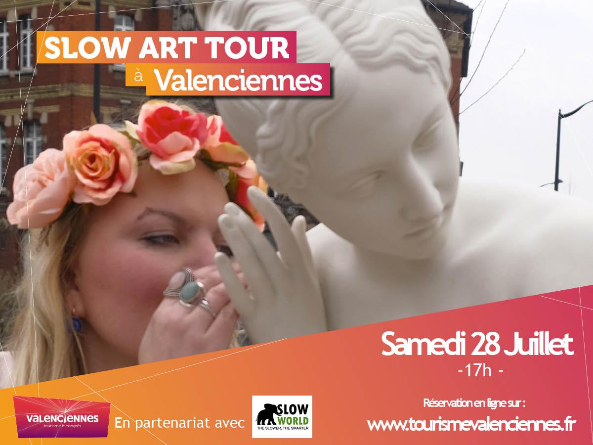 Flyer SLOW WORLD SLOW ART TOUR Valenciennes Tourisme et Congres