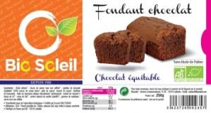 Bio Soleil Fondant Chocolat milka brownie sans huile palme palm oil free