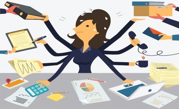multitache mono tâche femme travail single task method