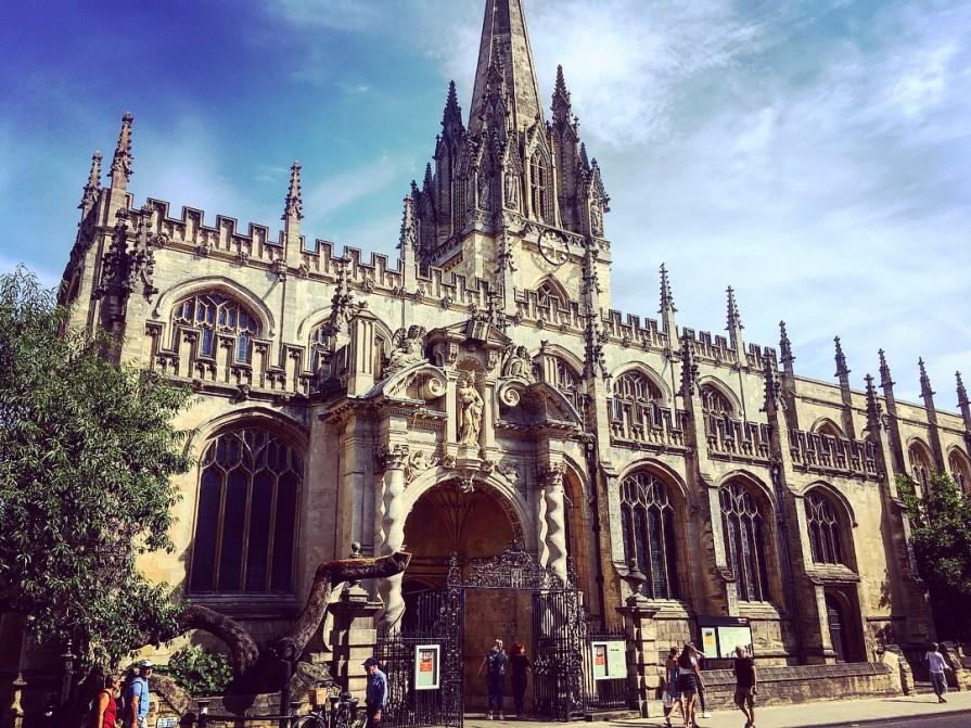Oxford église histoire historique