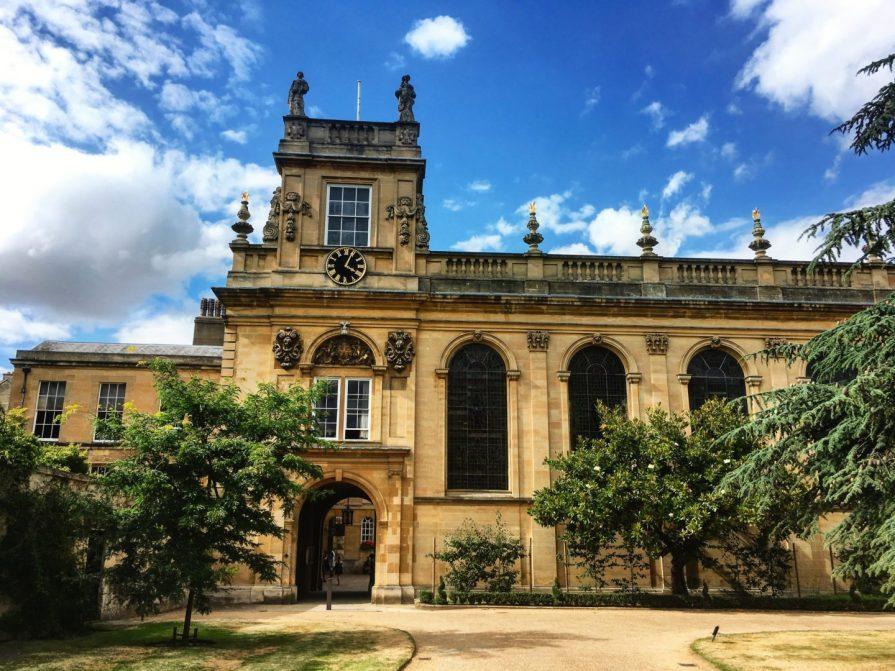Oxford Trinity College Slow World