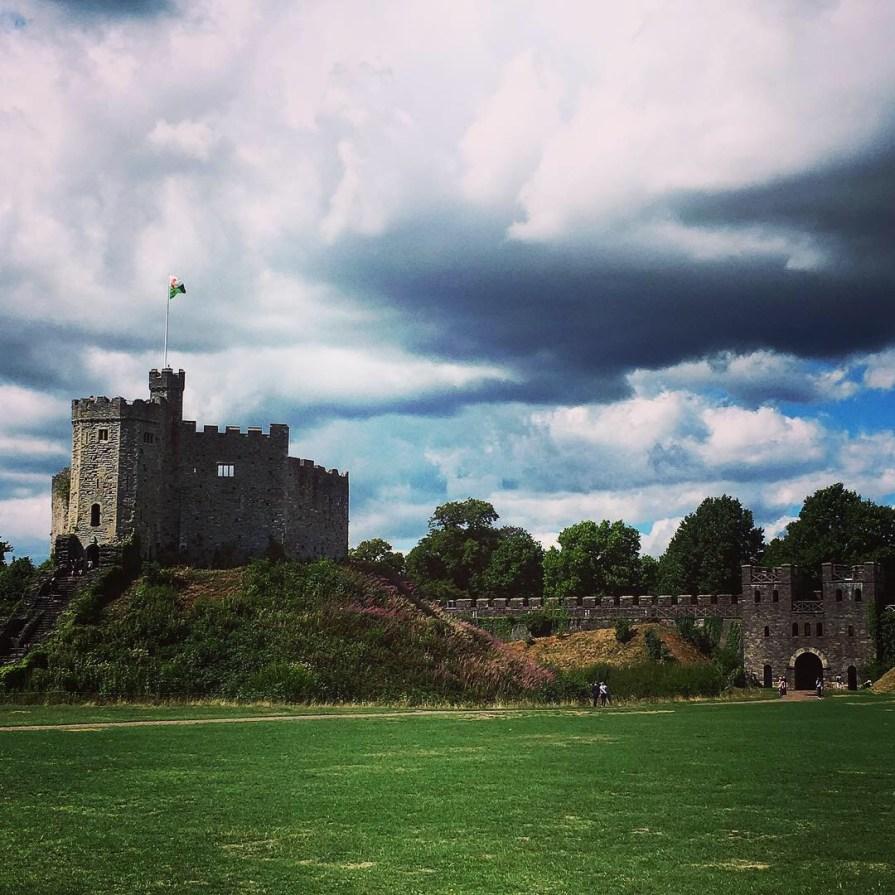 Cardiff Castle Chateau Pays de Galles