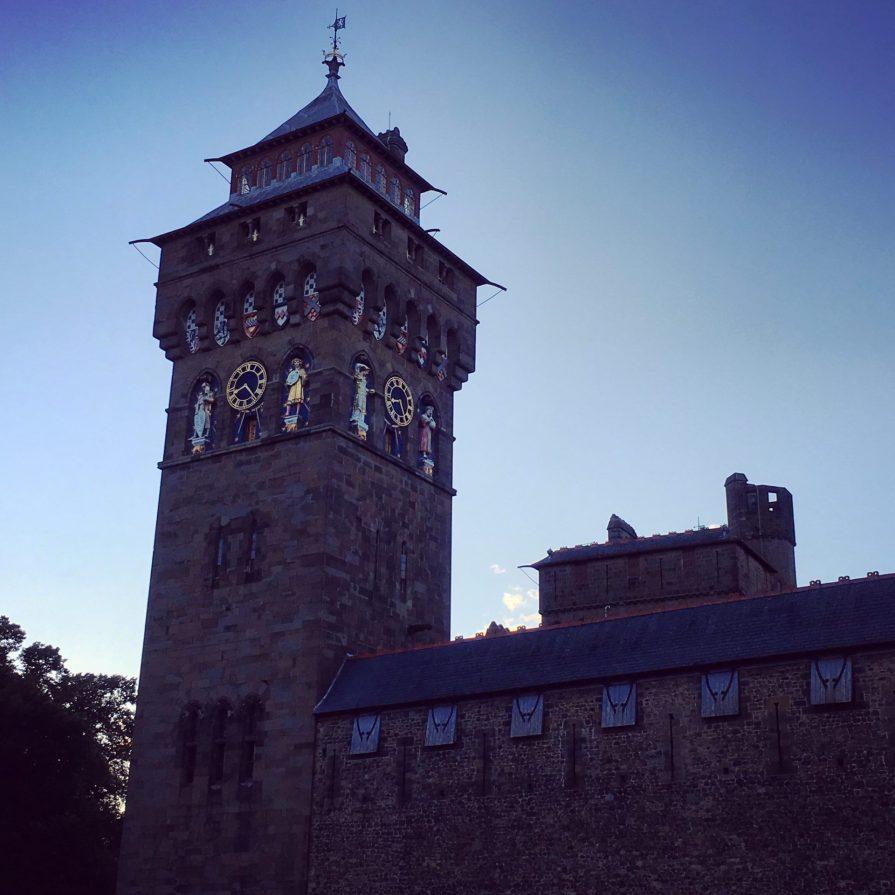 Cardiff Castle Chateau Tour Pays de Galles