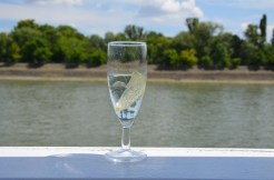 Cool lemonade. Danube cruise. Budapest, Hungary. July 2014. Photo: ©Slowaholic