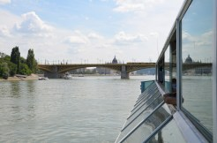 Margaret Bridge and the Parliament. Budapest, Hungary. July 2014. Photo: ©Slowaholic