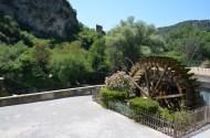 Vechea moară de hârtie. Încă funcțională. Fontaine de Vaucluse. Foto: ©Slowaholic