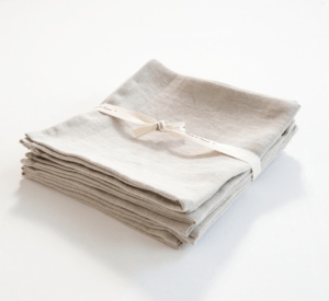 serviette en lin naturel LANDMADE