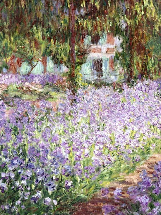 The Artist's Garden at Giverny,1900