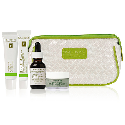 Eminence Organic Skin Care Bright Skin Starter Set at Slow Beauty Eco Salon in Canberra