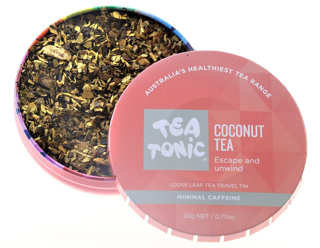 Tea Tonic Coconut Travel Tea at Slow Beauty Eco Salon