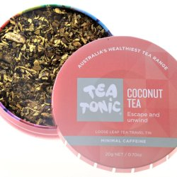 Tea Tonic Coconut Travel Tea at Slow Beauty Eco Salon